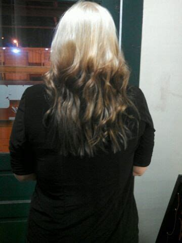 reverse ombre light roots  dark ends love  hair