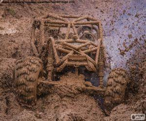 4x4 Dans La Boue : jeux de puzzle de sports de moteur casse t tes ~ Maxctalentgroup.com Avis de Voitures