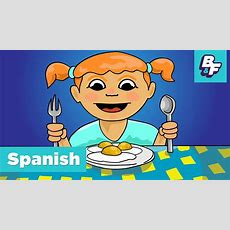 Learn Spanish Food Vocabulary With Basho & Friends  I'm Hungry Food Song  ¡tengo Hambre! Youtube