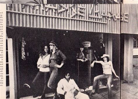 Paradise Garage Boutique In Harpers & Queen 1971