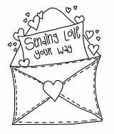 Envelopes Cre8tive Barrau Mireille S1106 sketch template