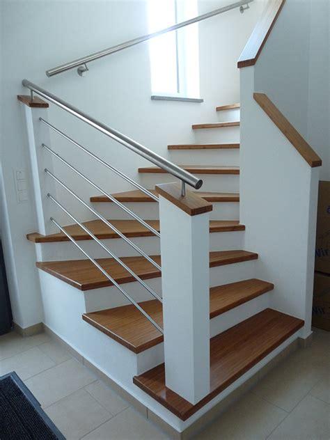treppe weiß holz ammann treppen holz und beton