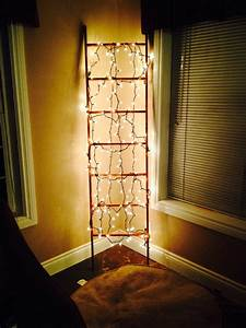 My, Scarf, Ladder, Dressed, Up, As, Ambiance, Lighting, In, The