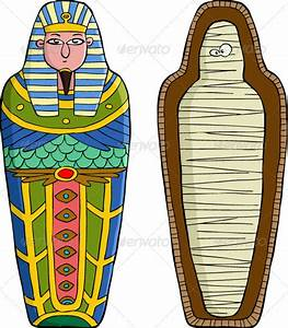 egyptian mummy sarcophagus cartoons With egyptian sarcophagus template