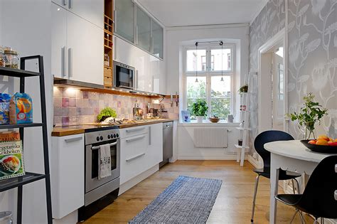 small apartment kitchen design ideas 5 steps decorating the apartment kitchen at a small cost