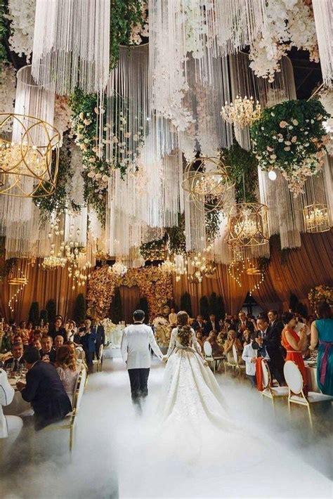 62 extravagant white indoor wedding ceremony 50 Wedding