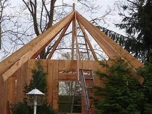 Holzpavillon Selber Bauen : wir bauen eine grillh tte grillkota pavillon teil 3 das richtfest youtube ~ Orissabook.com Haus und Dekorationen