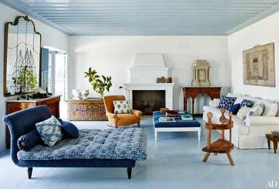 rooms  showcase blue  white decor