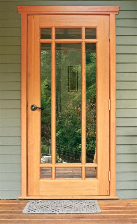 Style Doors by Custom Wood Doors Saratoga Woodworks Craftsman Style
