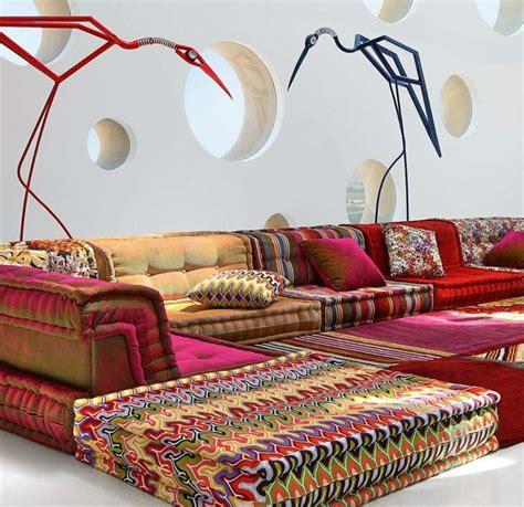 canapé orientale moderne salon moderne d 39 inspiration marocaine