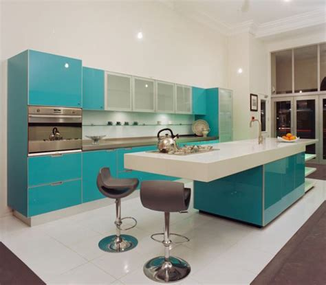turquoise and green kitchen decorating with turquoise colors of nature aqua exoticness 6398