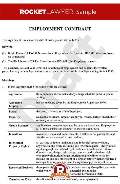 quotes  employment contracts  quotes