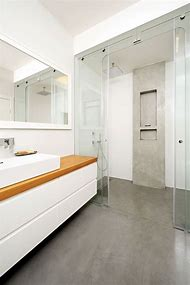 Concrete Floor Bathroom Ideas