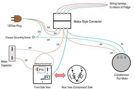 refrigerator wiring diagram periodic diagrams science