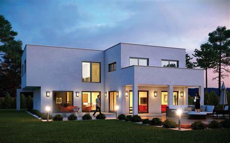 Hausanbau Mit Flachdach by Haus Cube Emondi 190 Fertighaus Mit Flachdach