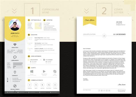 Indesign Resume Template by Find The Indesign Resume Template To Showcase Your