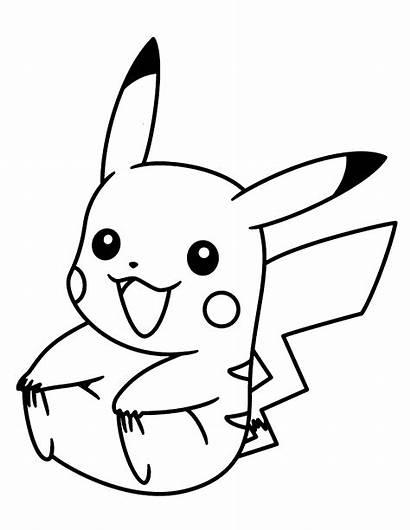 Pokemon Pikachu Coloring Kleurplaten Diamond Pearl Kleurplaat