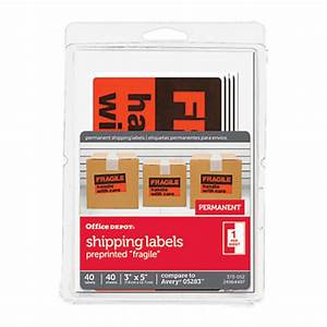 office depot brand preprinted permanent shipping labels With does office depot print stickers