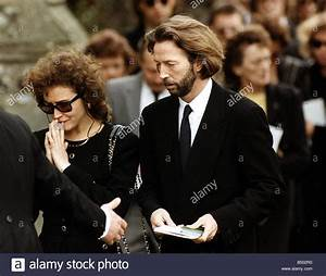Eric Clapton singer with the mother of his son Lori Dal ...