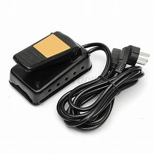 220v Ac Black Iron General Variable Speed Foot Pedal