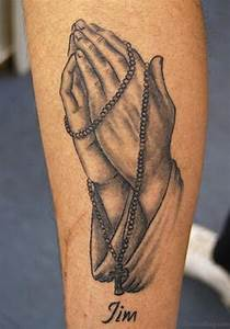 52 Great Rosary Tattoos On Arm