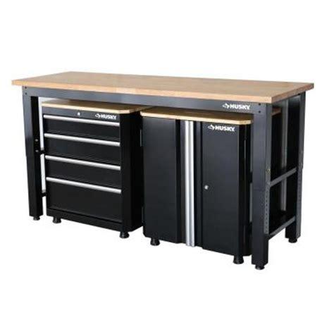 home depot husky cabinet husky 42 in h x 72 in w x 24 in d steel garage cabinet