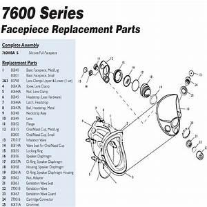 North 80840 Full Facepiece Sealing Flange  U2013 Major Safety