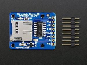 Microsd Card Breakout Board  Id  254