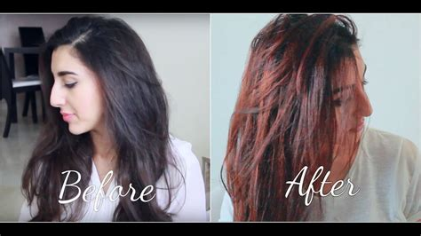 Hair Color On Black Hair by How To Dye Black Hair To Hair Naturally At Home