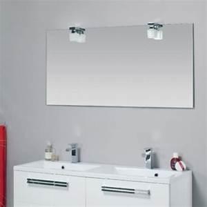 beautiful spot salle de bain miroir images awesome With miroir de salle de bain avec etagere