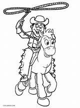 Cowboy Coloring Cowboys Printable Western Dallas Drawing Osu Boots Getdrawings Getcolorings Cool2bkids Colorings sketch template