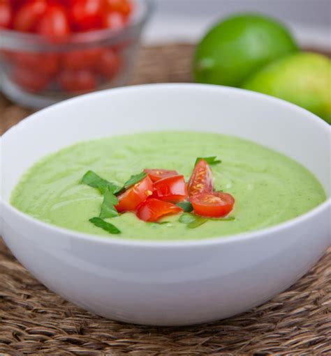 cold avocado soup chilled cucumber avocado soup recipe just a pinch recipes