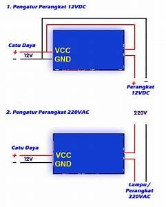 Jual Relay Cahaya 12v Saklar Otomatis Sensor Lampu 250v Ac Light Ldr