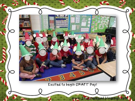 2nd grade pad christmas craft day and freebie 6