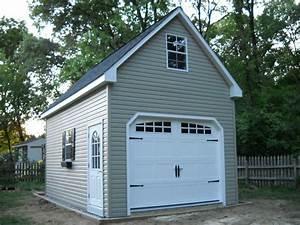 amish 12x20 single car 2 story vinyl garage shed new ebay With amish garage with loft