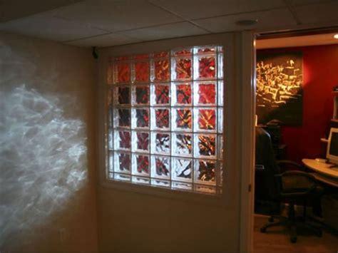 install  glass block wall hgtv
