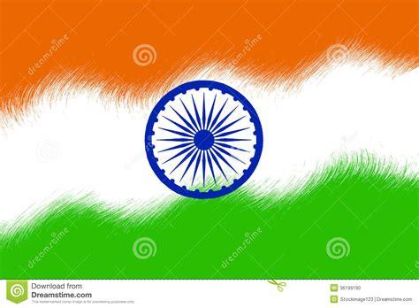 Indian Flag stock illustration. Illustration of symbol