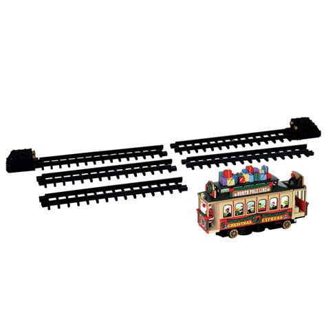 lemax santa s cable car accessory set 54960