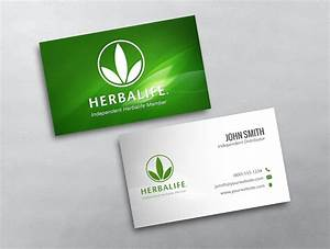 Herbalife business card 01 for Herbalife business card template
