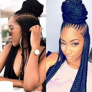 Latest Ghana Braids Hairstyles 2017 HairStyles