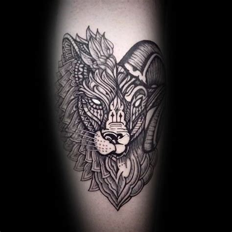 widder tattoos fuer maenner zodiac ink design ideen