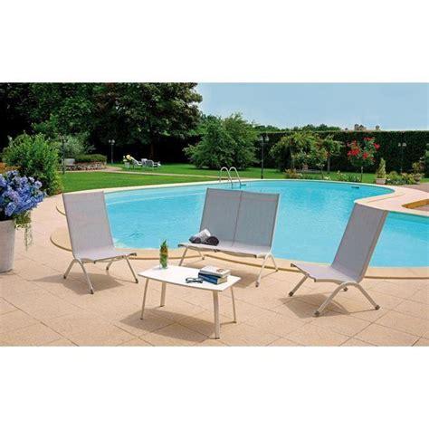 ensemble de jardin compos 233 de 2 fauteuils 1 canap 233 2 places 1 table 75x41x40cm achat vente