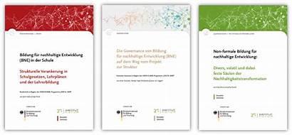 Bne Monitoring Bildungslandschaft Verankerung Deutschen Neuen Zur
