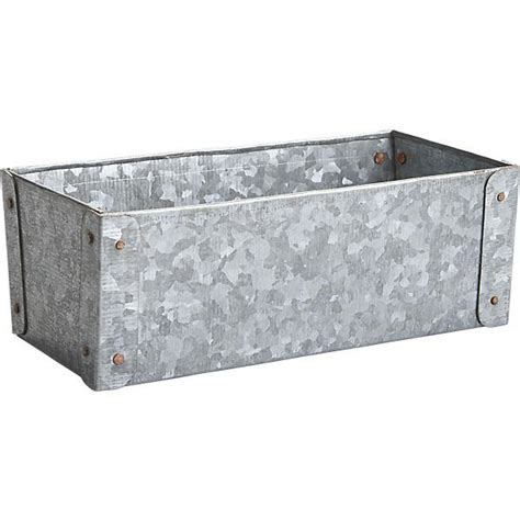 galvanized tub  bin  utility crate  barrel
