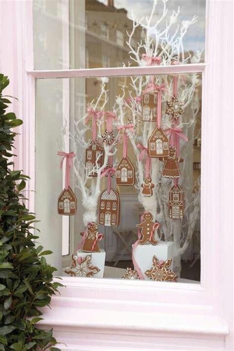christmas windows ideas  pinterest xmas