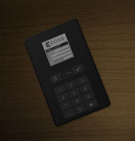 Your wallet has the private key that allows you to access your bitcoin address (aka. A physical Bitcoin wallet with biometric authentication? CryptoLabs is launching one in 2015