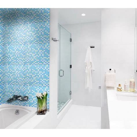 glass tile sheets for shower wall tiles designs