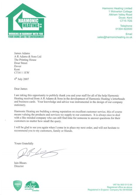 thank you letter thank you for your client referral letter client 7904