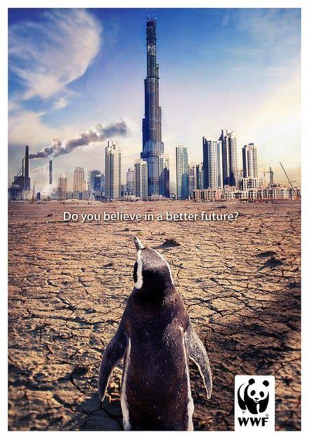 inilah gambar poster global warming  keren lihat deh