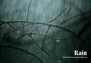 20 Rain PS Brushes Abr Vol6 Free Photoshop Brushes At